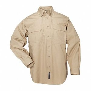 5.11 Tactical Woven Button Down Shirt Coyote M